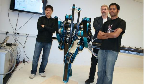 Быстрее всех бегает американский робот
