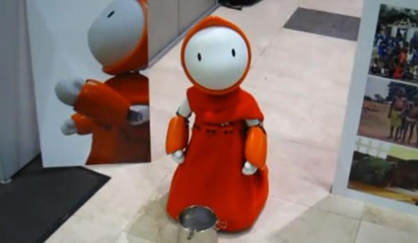 Роботы тоже попрошайничают